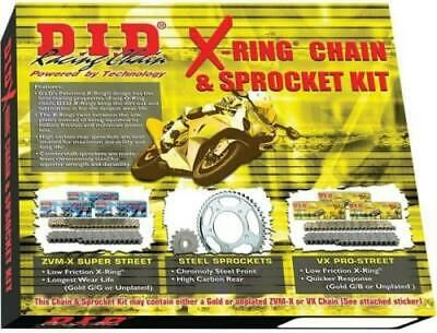 (Advertisement eBay) D.I.D X-Ring Chain Kit 530ZVMX 17 Front/45 Rear DKY-006 1230-0384 DIDKY006 530