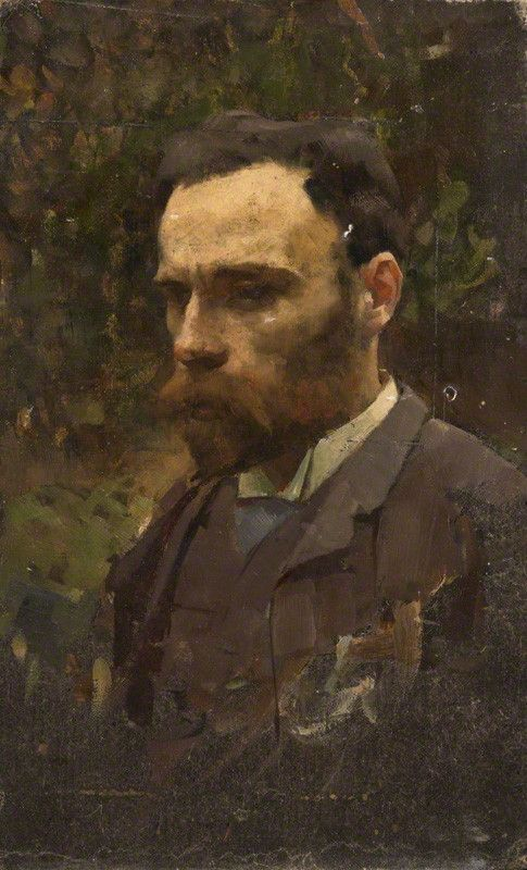 John William Waterhouse By William Logsdail Circa 1887 John