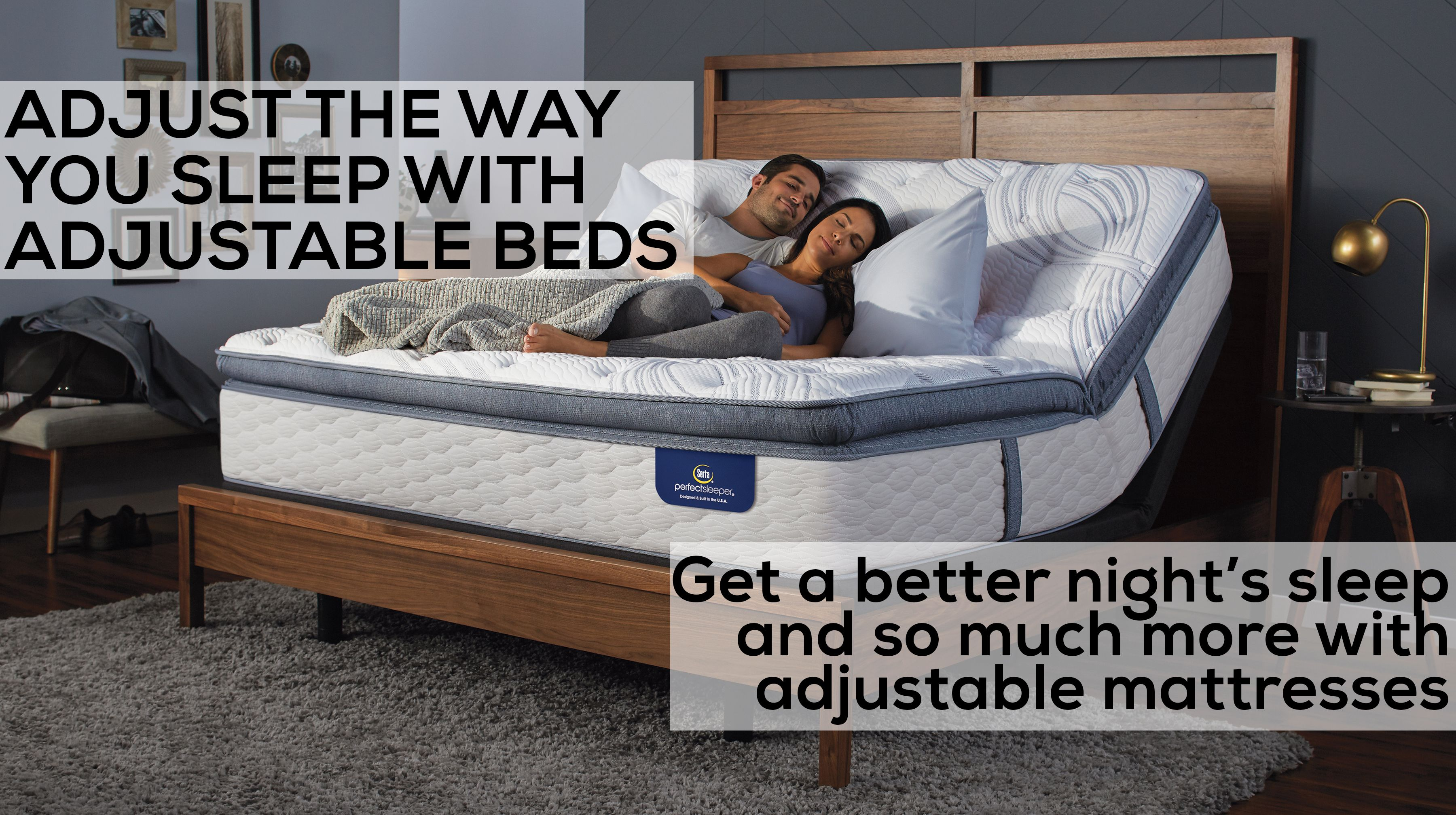 Adjust The Way You Sleep With Adjustable Beds Adjustable Beds Bed Bed Design