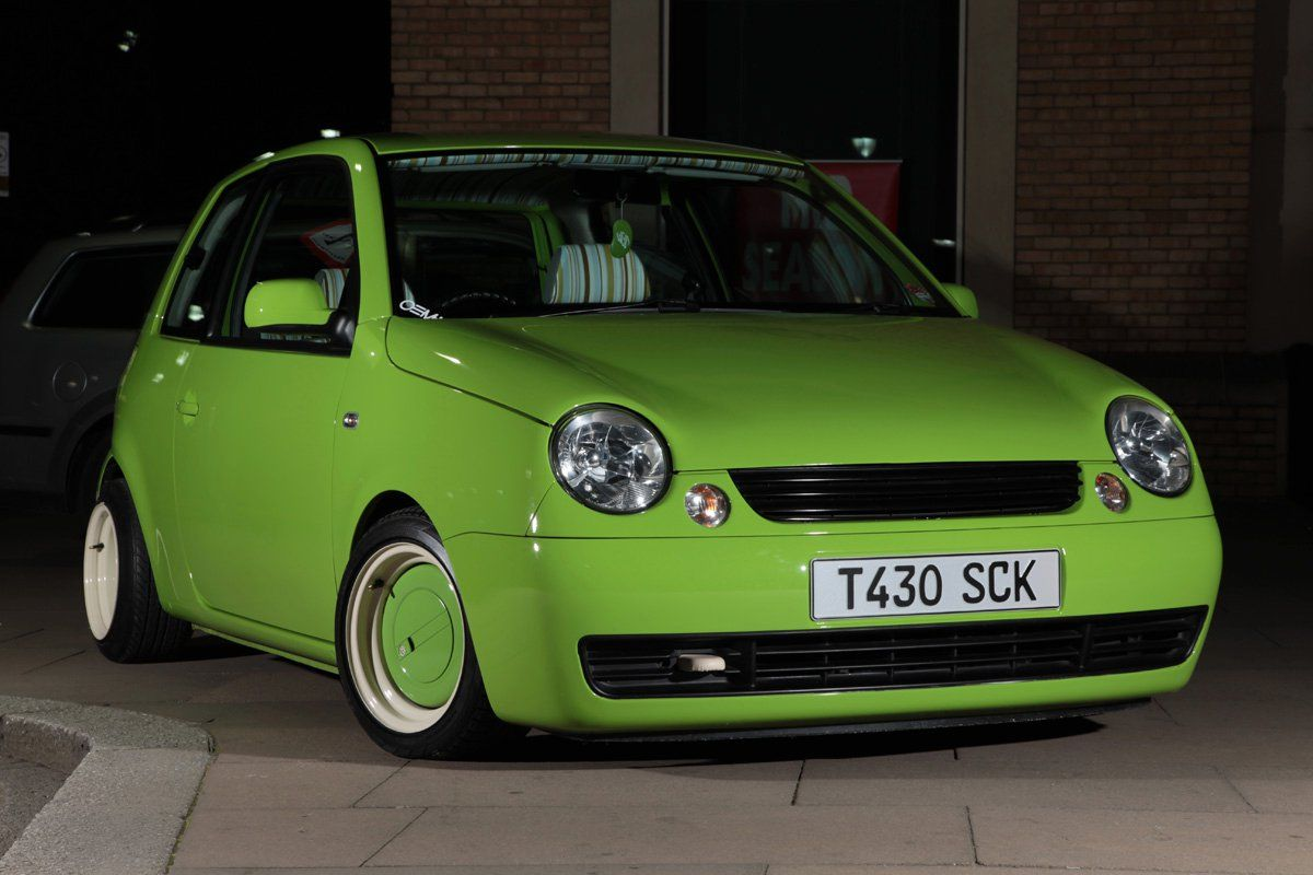 my green vw lupo air and water cars motorcycles cars. Black Bedroom Furniture Sets. Home Design Ideas