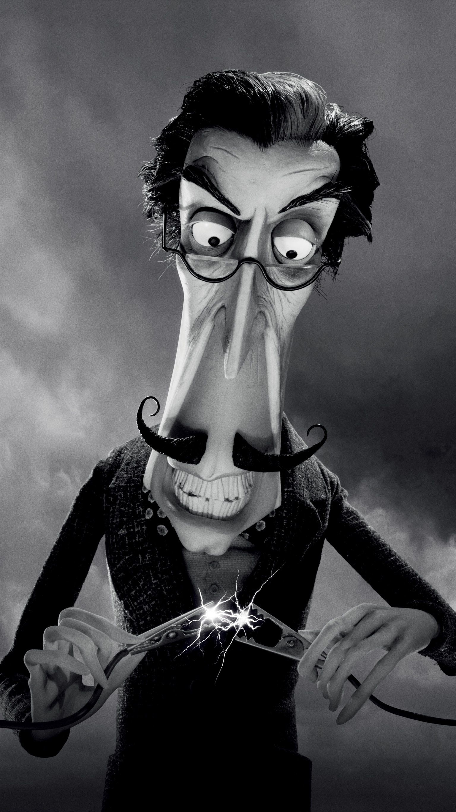 Frankenweenie 2012 Phone Wallpaper Wallpaper Movie Wallpapers The Greatest Showman
