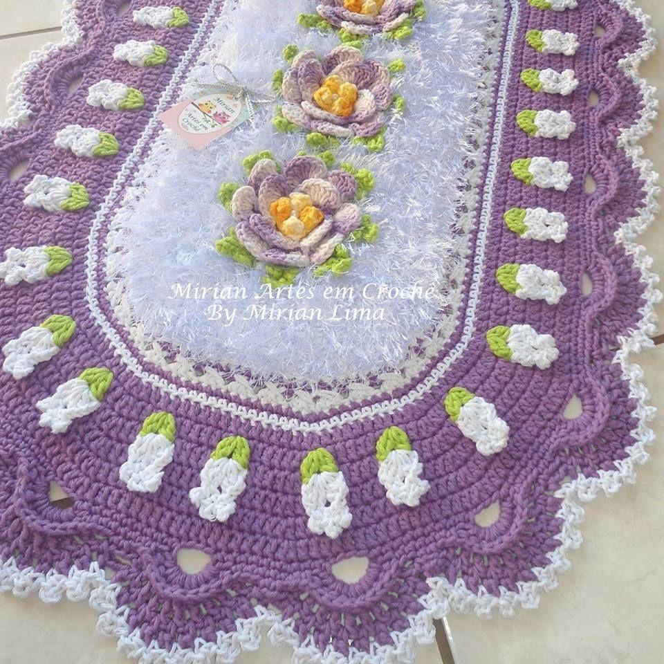 Pin von Jacky Ssilva auf tapetes croche | Pinterest