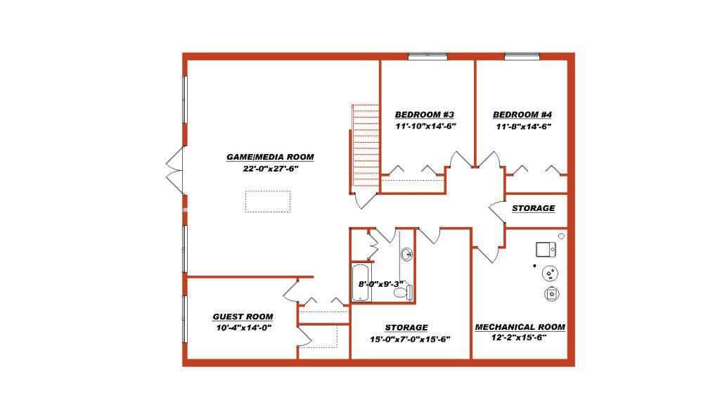 Plan How To Design A Basement Floor Plan Ranch Homes With Basement Design Your Own Basement Floor Plans 102 Basement Floor Plans Floor Plans Floor Plans Ranch