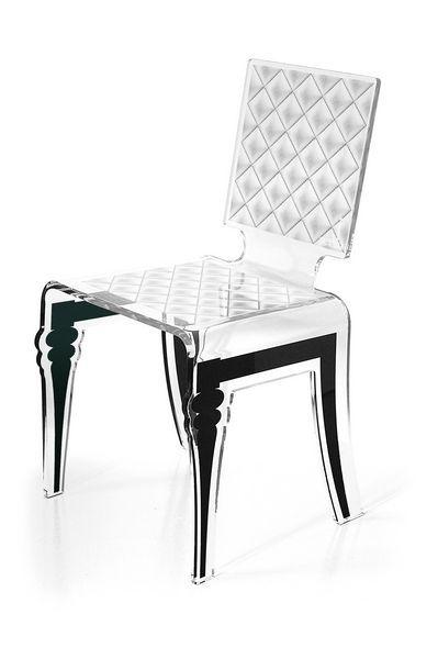 chaise acrylique diam argent pinterest chaise acrylique acryliques et argent. Black Bedroom Furniture Sets. Home Design Ideas