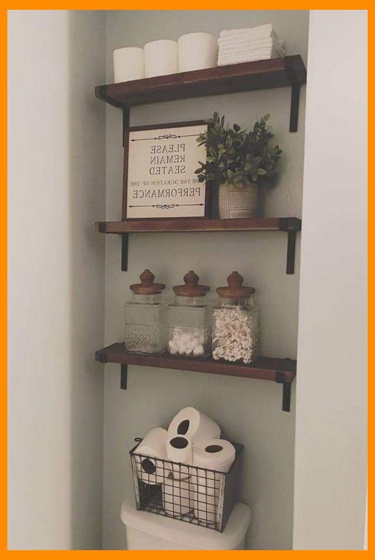 47 Easy Small Bathroom Storage Ideas Small House Ideas Tiny