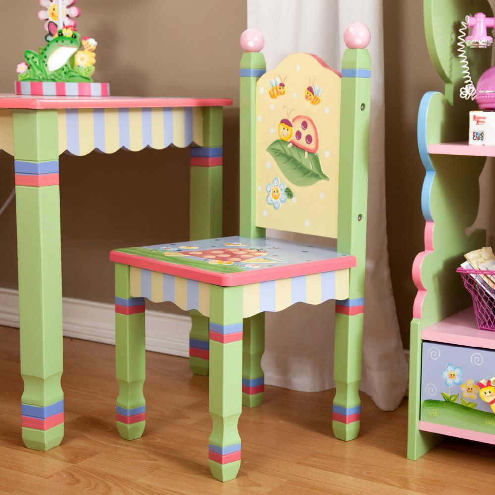 Fantasy Fields Magic Garden Table And 2 Chair Set Activity Tables At Hayneedle