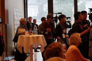 Pressekonferenz - Montblanc & Salzburg Festival Young Directors Project 2014