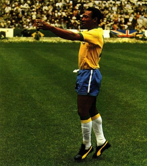 #TBT To 1970 With Pele And His #Puma Kings. Today, The