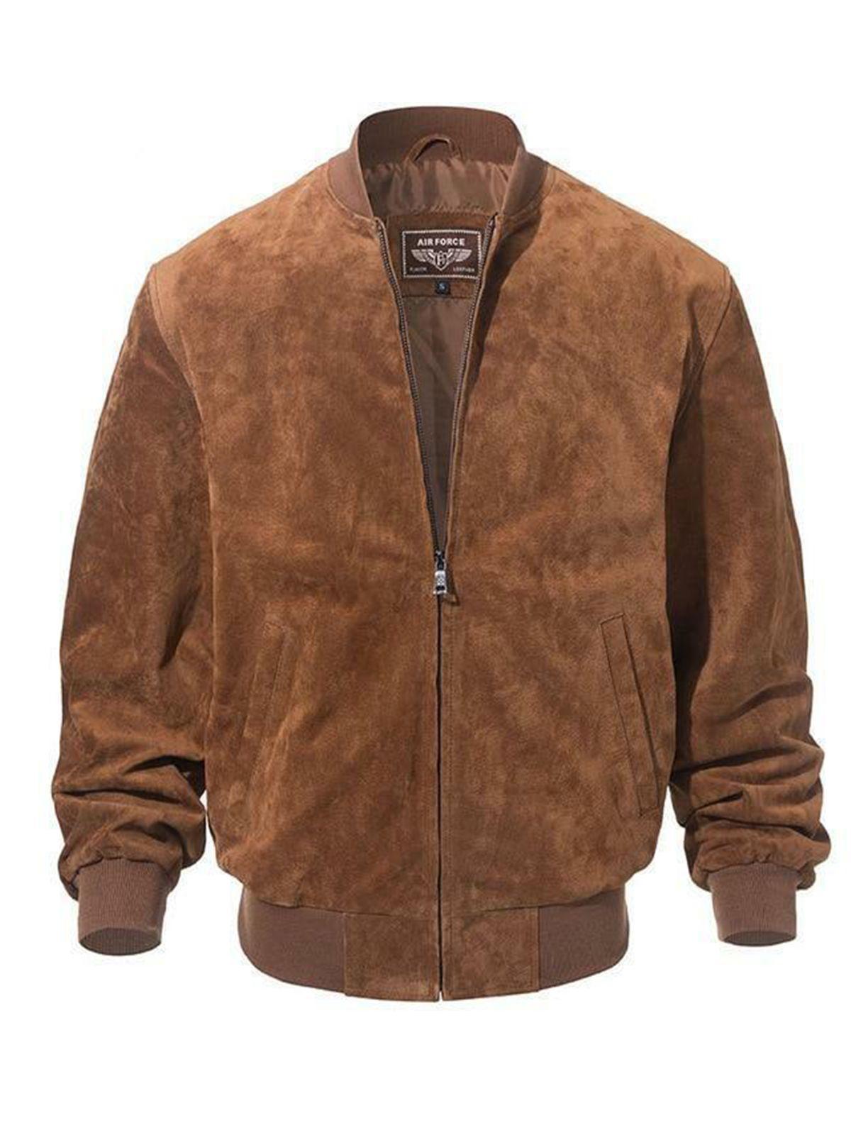 Adamsville Mens Brown Suede Bomber Jacket In 2021 Bomber Jacket Vintage Leather Bomber Jacket Suede Bomber Jacket [ 1600 x 1200 Pixel ]