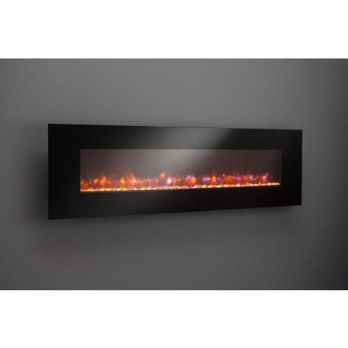 Pleasant Linear Electric Fireplaces For The Wall Have 4 Size Home Interior And Landscaping Oversignezvosmurscom