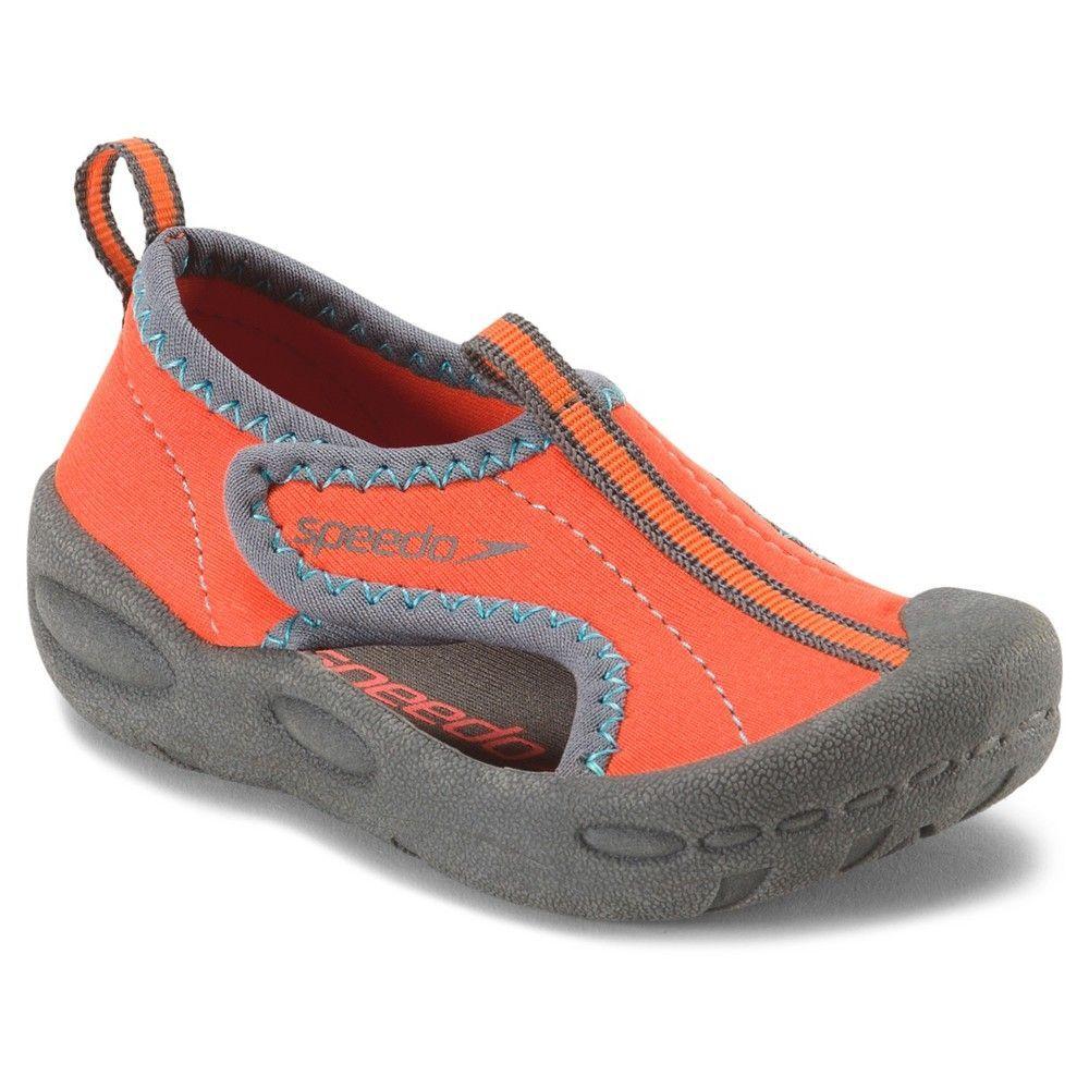 a2633d6a9f2d Speedo Toddler Kids Hybrid Water Shoes - Orange (Large)