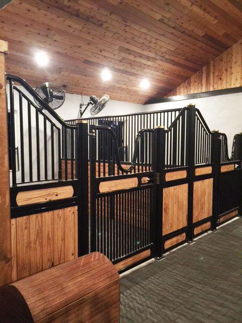 Client Photos Custom European Horse Stalls Saratoga Stalls Beautiful Horse Barns Barn Interior Horse Stalls