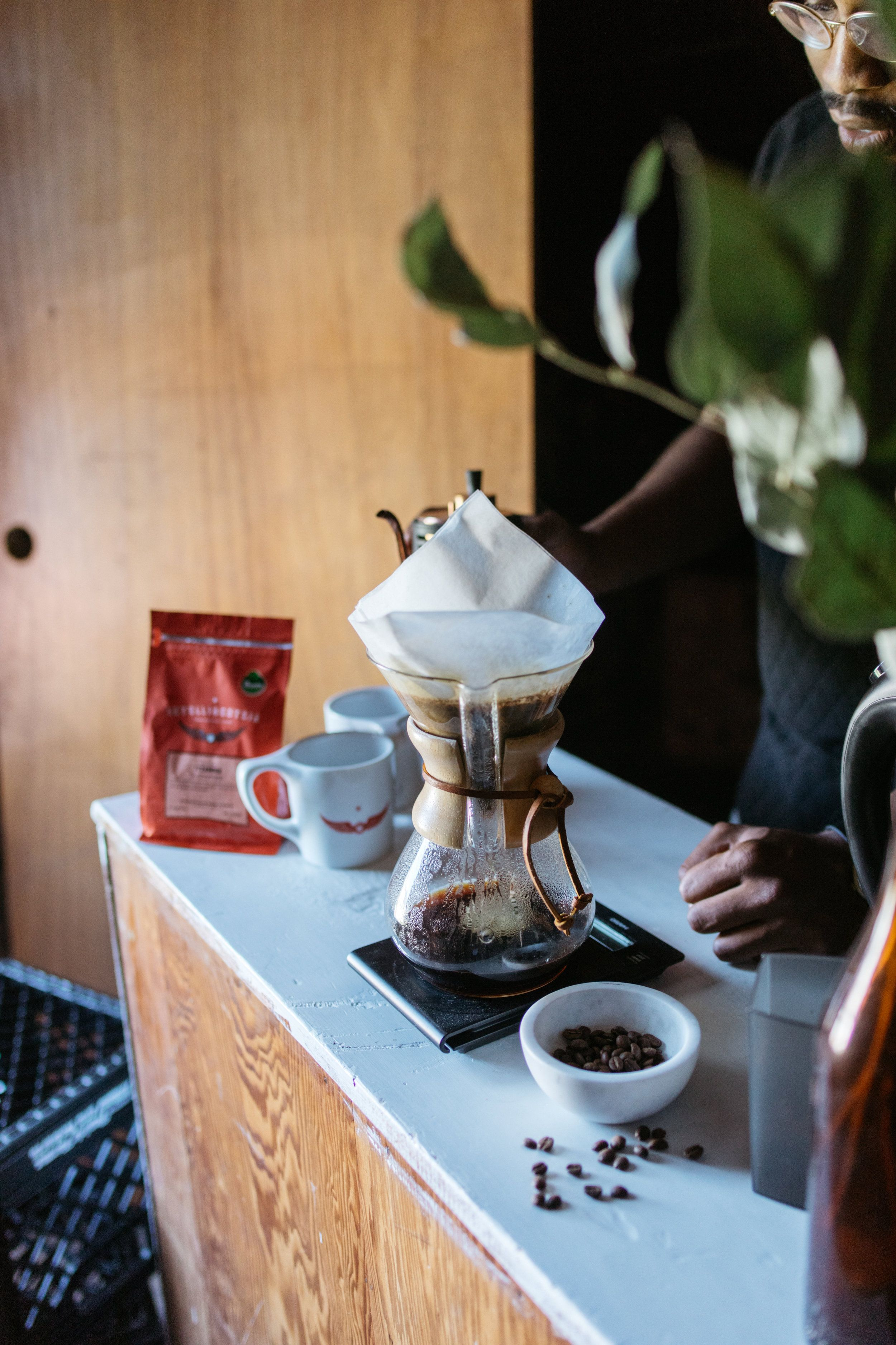 matt.scheffer wesleytaylor Fresh roasted coffee