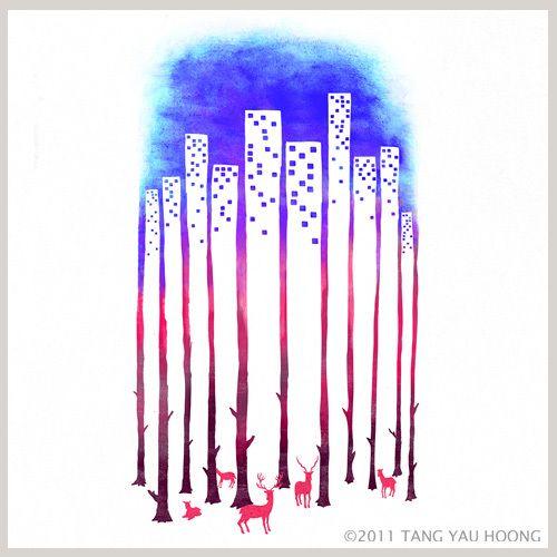 The Art of Negative Space - Tang Yau Hoong