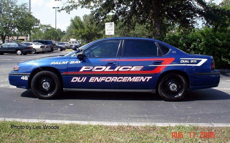 Palm bay fl police dui enforcement 46 chevy impala for Department of motor vehicles palm bay florida