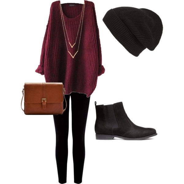 Casual Fall Outfit by redanahm on Polyvore featuring polyvore, fashion, style, Warehouse, H&M, Joules, Jennifer Zeuner and Phase 3