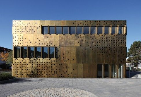 transfer centre for adaptronics in darmstadt germany by jswd architekten buildings. Black Bedroom Furniture Sets. Home Design Ideas