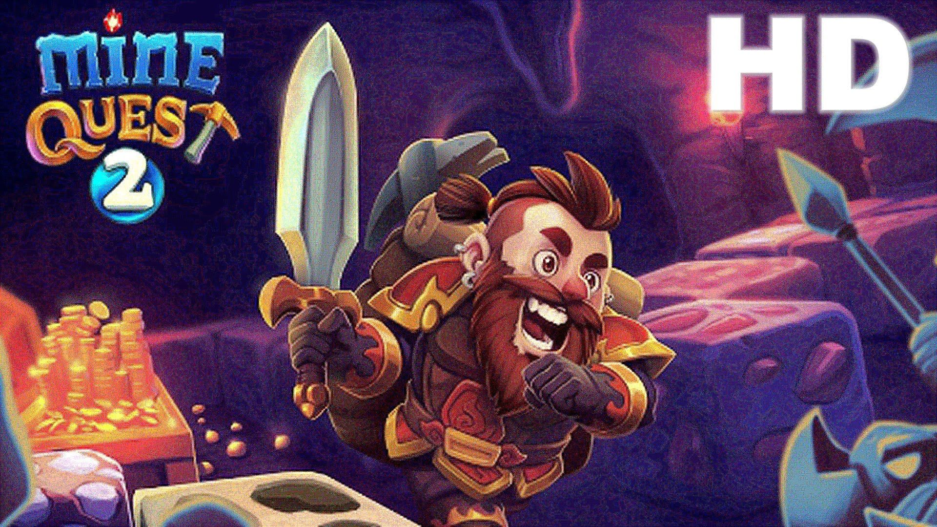 Mine Quest 2 Mining RPG Game Review 1080p Official Tapps
