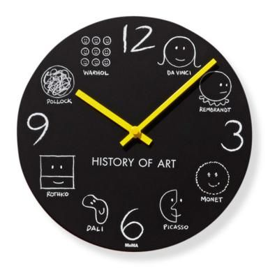 Contemporary Galleries, Louisville KY. History of Art Clock