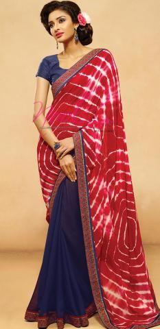 http://www.nool.co.in/product/sarees/bandhani-saree-red-chiffon-geometric-half-sari-printed-sf2987d15727