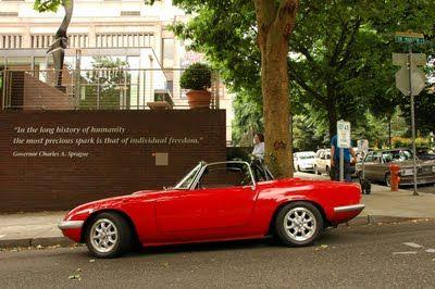 1968 Lotus Elan S3.