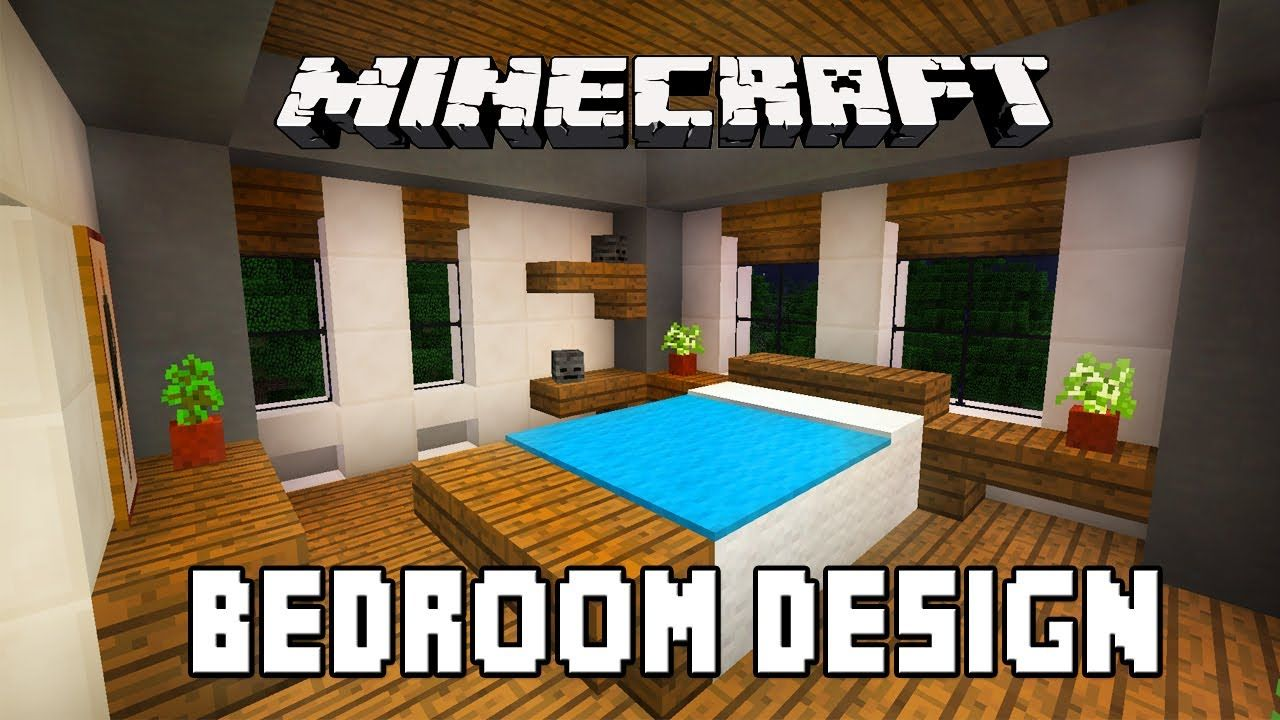 Goodtimeswithscar Minecraft tutorial: how to build a bedroom (how to ...
