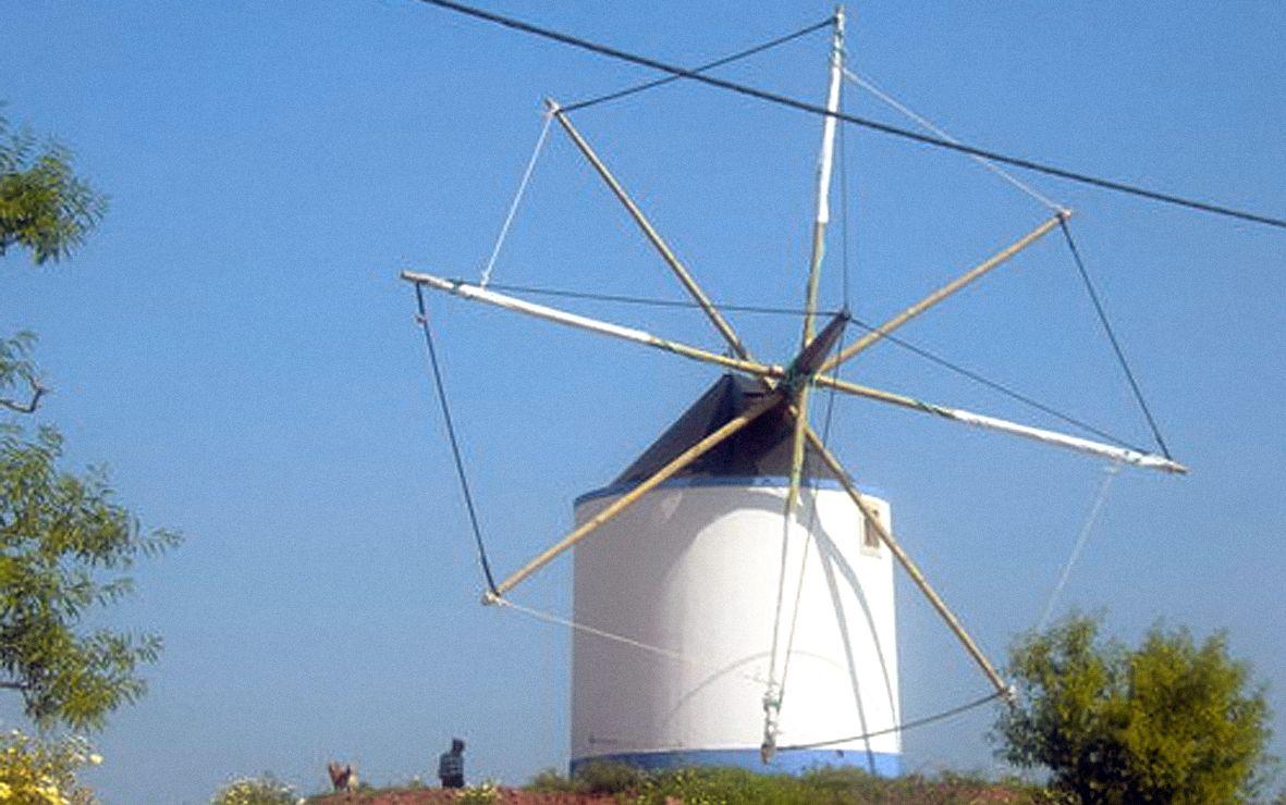 Quinta Dos Lopes Windmill Wind Turbine Algarve