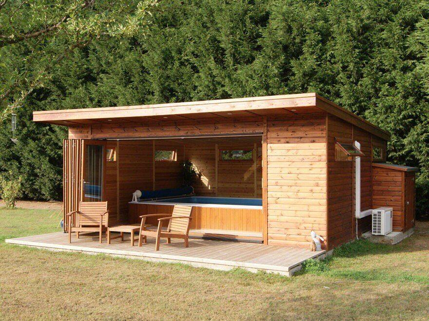 bakers timber buildings - bi-fold executive summer house   garden