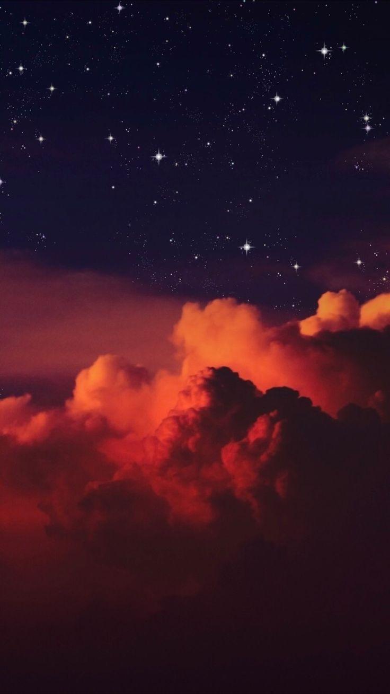 15 Beautiful Wonder Of The Sky For Iphone Wallpaper Orange Sky Full Of Stars Night Sky Wallpaper Iphone Wallpaper Stars Cloud Wallpaper