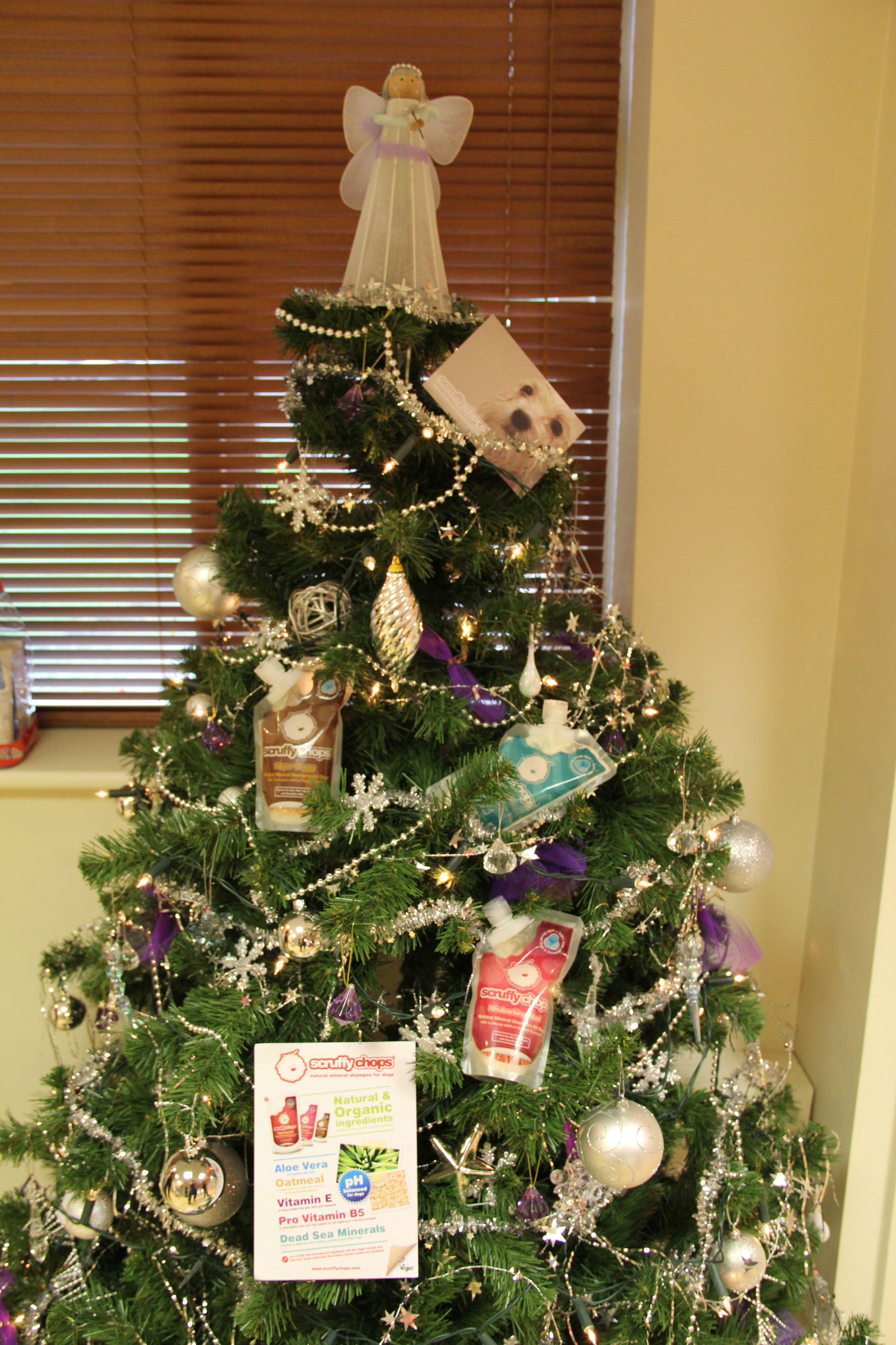 The Scruffychops Tree Dog Shampoo Holiday Decor Skincare Ingredients