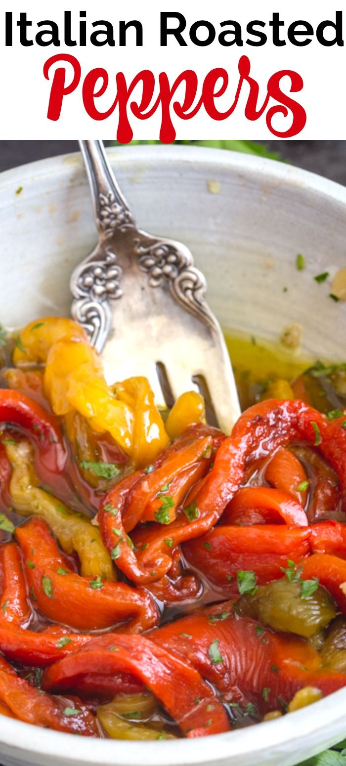 Italia Grilled Pepper Appetizer -Best way to Eat Roasted Peppers