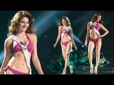 Urvashi Bikini Competition Rautela Hottest Video Walk A3Rjq54cL