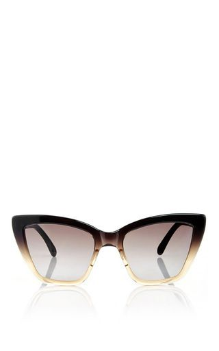 77708739a25 Calvi Ombre Angular Cateye Sunglasses by PRISM Now Available on Moda  Operandi