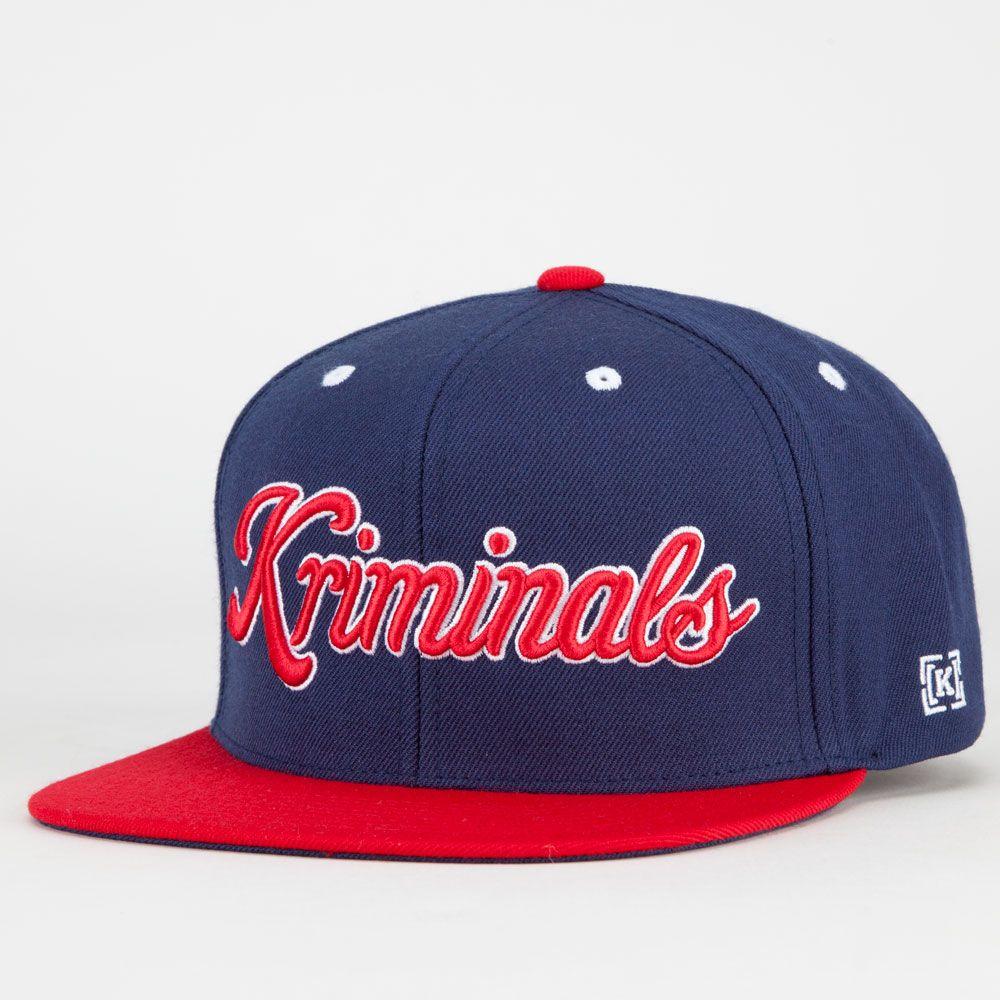 fa852bb13 KR3W Kriminals Mens Snapback Hat | My swagg in 2019 | Snapback hats ...