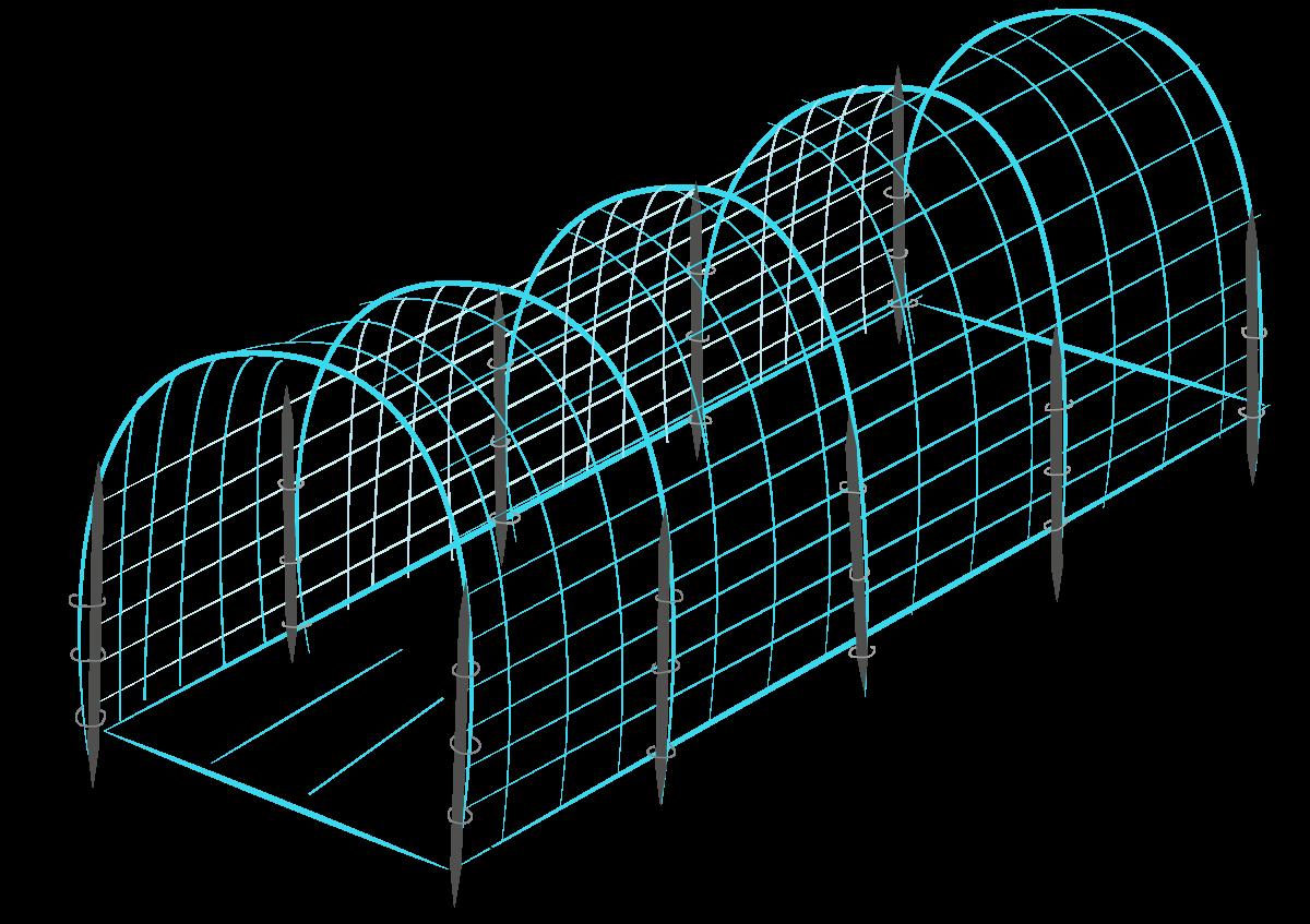 3 Ways to Build a Hog Wire Trellis   Vegetable garden   Pinterest ...