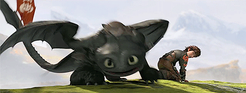 Toothless looks so ADORABLE!!!!!!!!!!!!