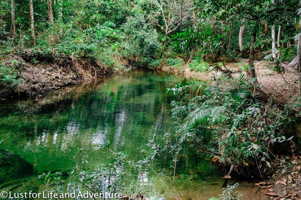 Chasing waterfalls in parque el cubano oldtimer