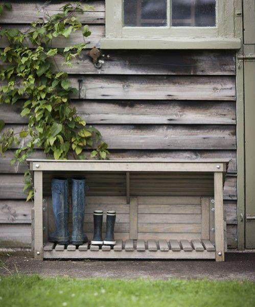 Deluxe Outdoor Shoe Storage 285839 Home Design Ideas Outdoor Shoe Storage Boot Storage Shoe Storage