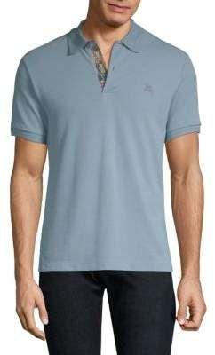 c9841ef02dfafe Burberry Cotton Polo Shirt Polo Shirt