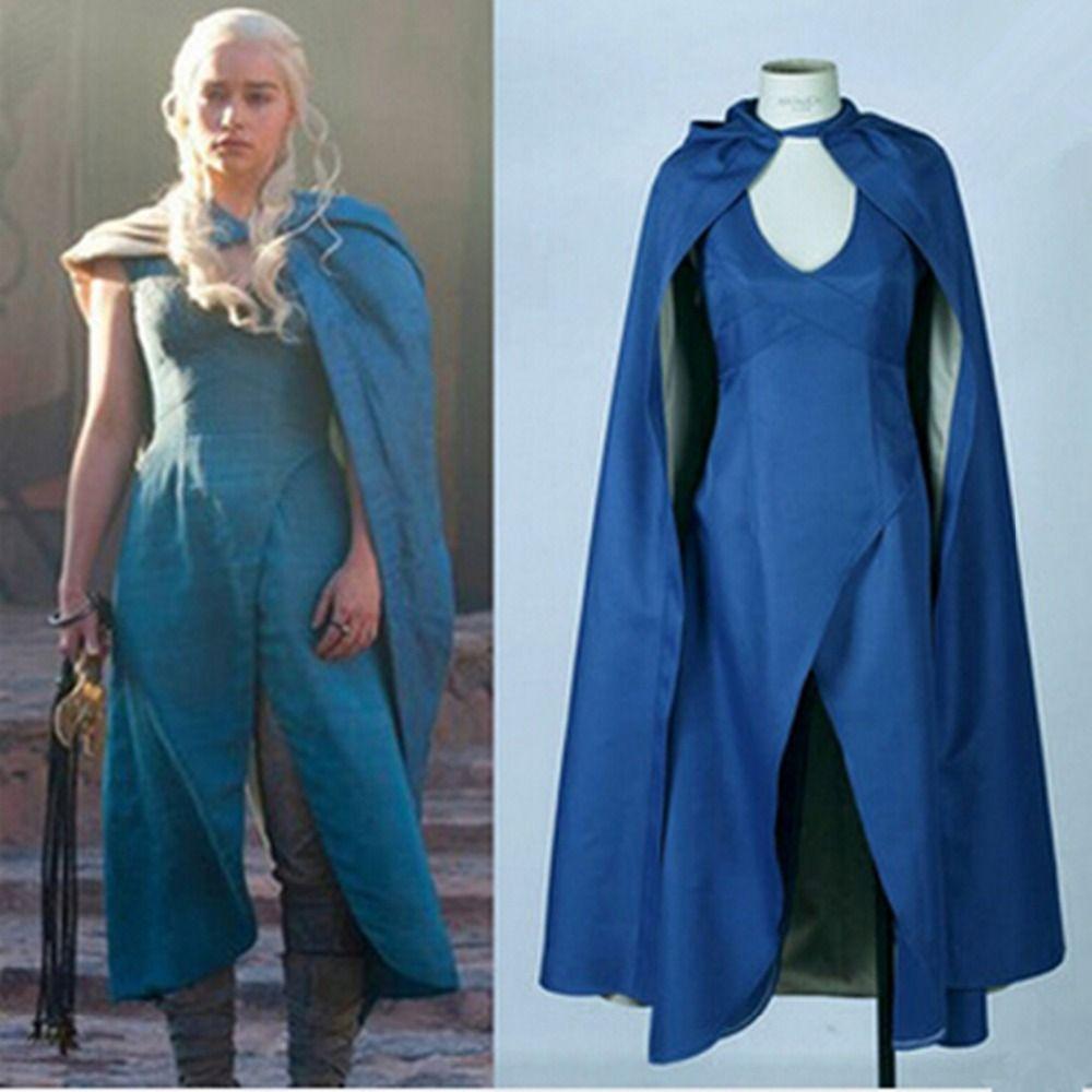 Game of Thrones Daenerys Targaryen Cosplay Costumes #gameofthrones ...