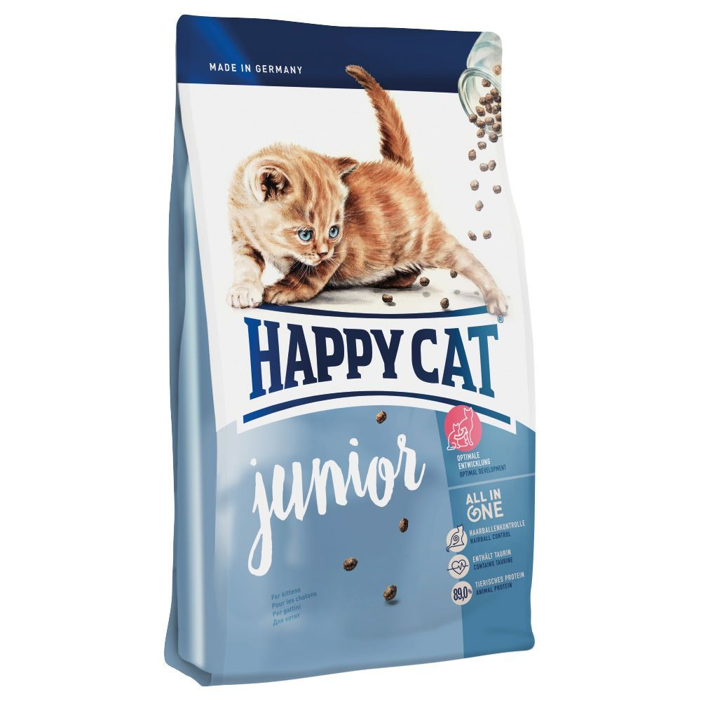 Animalerie Happy Cat Junior Pour Chaton 1 4 Kg Happy Cat Cats Cat Food