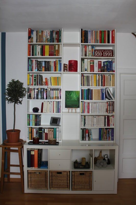 IKEA Hackers: Besta Climbs On Expedit Be Nice In Office