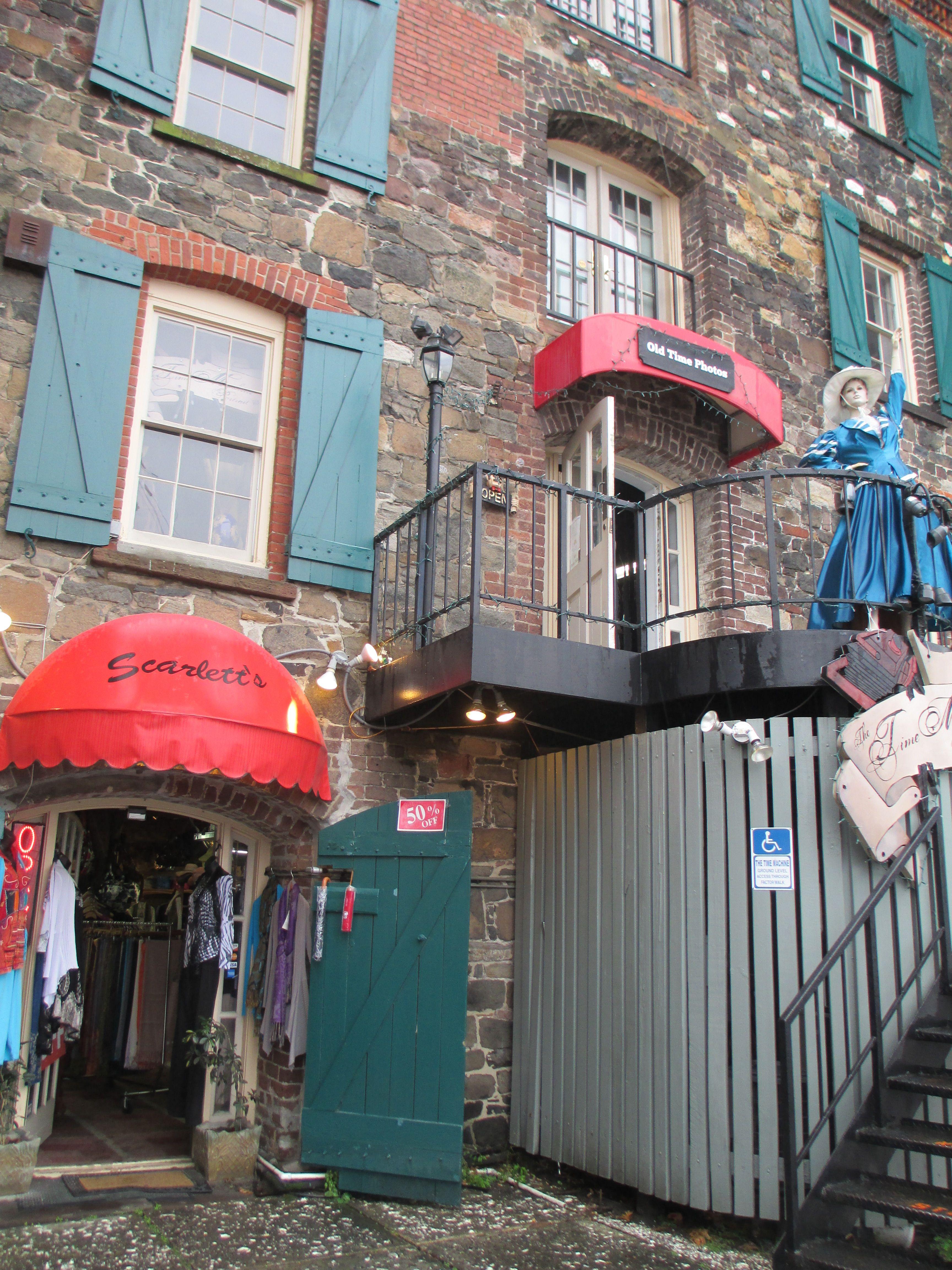 River street tourist shops savannah ga repinned via