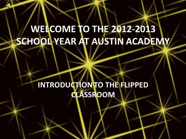 Intro to Flipped Classroom by ajroell via authorSTREAM ...
