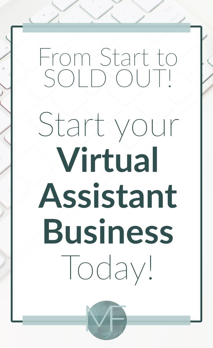Starting a Virtual Assistant Business   Becoming a Virtual Assistant ...