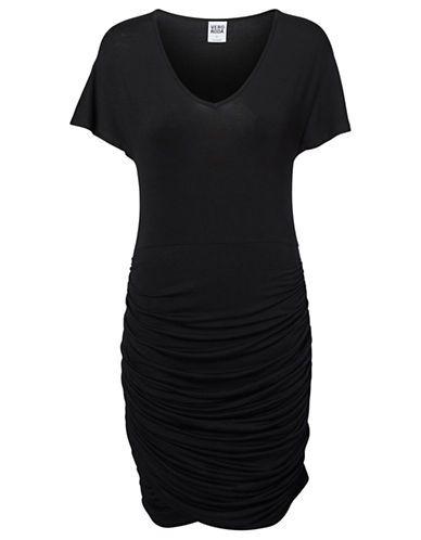 Women's   Dresses   Ruched V-Neck Sheath Dress   Hudson's Bay