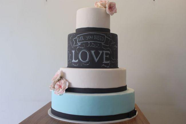 26 bolos de casamento LINDOS, deliciosos e para todos os estilos! Image: 0
