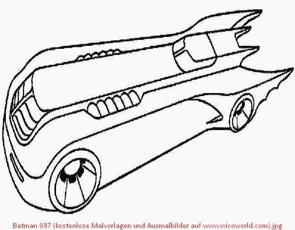 Batman Auto Ausmalbilder Malvorlagen Ausmalbilder Ausmalen