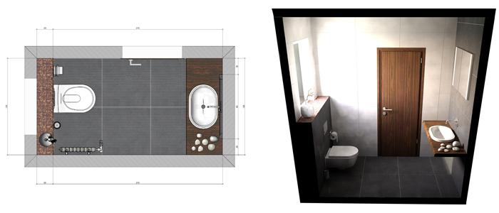 M s de 50 ideas de dise os para ba os modernos peque os for Banos modernos para espacios pequenos