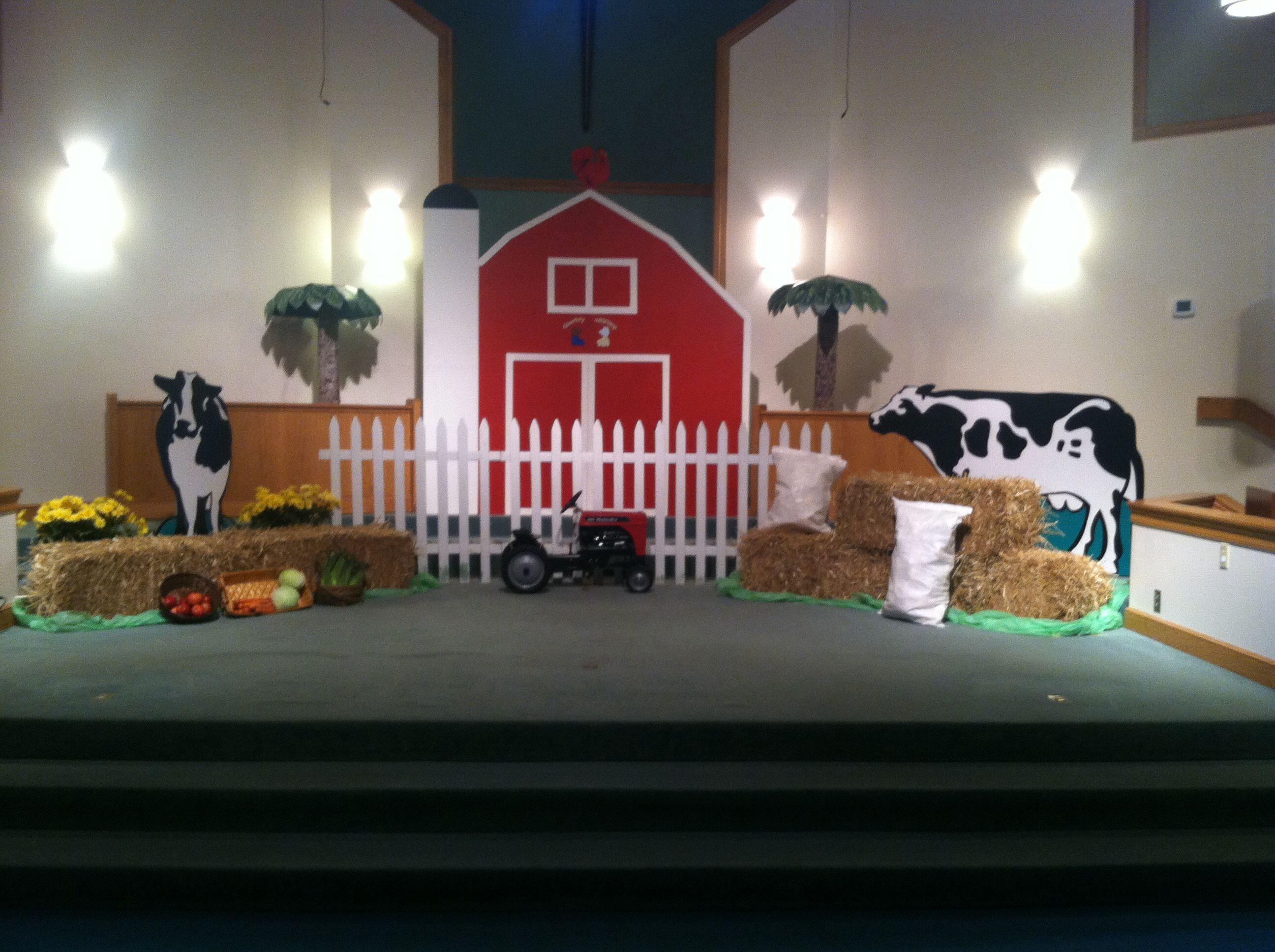 Farm Theme Vacation Bible School
